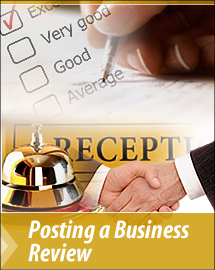 Posting a Business Review